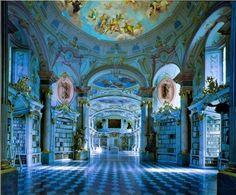 Palaces, Most Beautiful, Beautiful Places, Beautiful Castles, Amazing Places, Wonderful Places, Beautiful Pictures, Beautiful Library, Dream Library