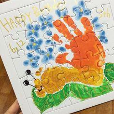 (2ページ目) 赤ちゃんや子供と楽しめる!おしゃれな手形アートが流行中♡♡ [ママリ]
