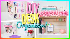 DIY Desk Organizer! Cute & Easy!