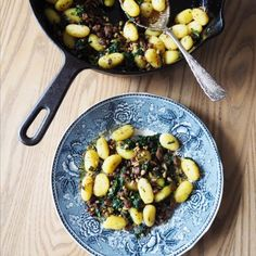 Gnocchipannu 200 Calories, Black Eyed Peas, Gnocchi, Kung Pao Chicken, Healthy, Ethnic Recipes, Food, Essen, Meals