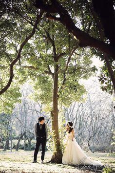 森での横浜ロケーション前撮り  *ウェディングフォト elle pupa blog*