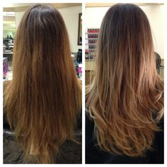 Refreshed Color - balayage/ombre accent technique used