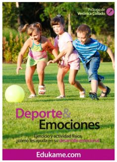 Cuaderno de Emociones y deporte Educacion Emocional con EDUKAME