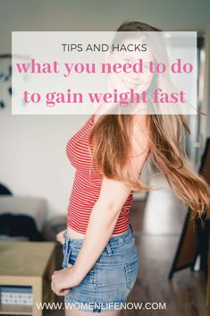 What You Need To Do To Gain Weight Fast.ways to gain weight fast/gain weight for women/how to gain weight fast/how to gain weight/foods that make you gain weight fast/gain weight fast/food to gain weight woman/tips to gain weight/ways to gain weight/ How To Gain Weight For Women, Tips To Gain Weight, Loose Weight Quick, Weight Gain Workout, Weight Gain Journey, Gain Weight Fast, Weight Gain Meals, Healthy Weight Gain, Weight Loss