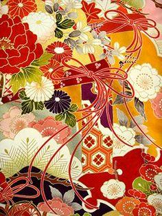手描京友禅 fu335 ピンク 御所車の衣装画像2