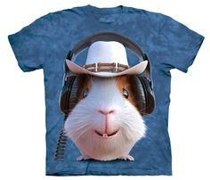 Camiseta Conejillo de Indias Cowboy