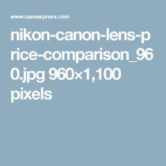 nikon-canon-lens-price-comparison_960.jpg 960×1,100 pixels