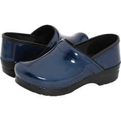 Dansko-to go with my blue nurse scrubs:)