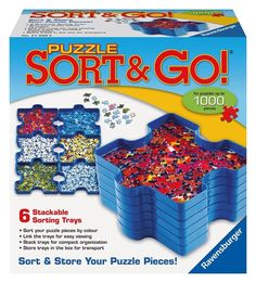 Sorting trays for jigsaw puzzle enthusiasts. | 21 Awesome Products From Amazon To Put On Your Wish List