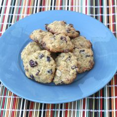 dark chocolate almond cranberry cookies with a secret health-boost ingredient!