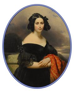 1837 Comtesse Jaubert, née Marie Boigues, by Franz Xaver Winterhalter (private collection) | Grand Ladies | gogm