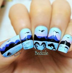 nail Design fall summer fake art cute acrylic diy polish winter