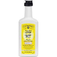 J.r. Watkins Hand And Body Lotion Lemon Cream - 11 Fl Oz - 0542266