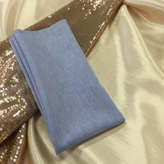 Blush sequins, blush silk and the beautiful serenity blue napkin.what a combo. Napkin, Serenity, Blush, Sequins, Silk, Clothes, Beautiful, Fashion, Outfits