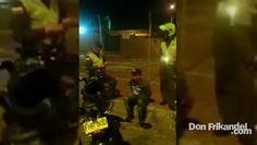 Se evidencia la captura de un sujeto por parte de la Policía Nacional
