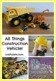 All Things Construction Vehicle!