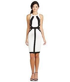 XOXO Coloblocked Sheath Dress #Dillards