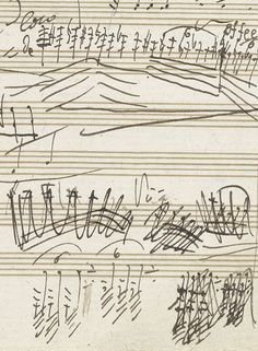 Beethoven's musical notations