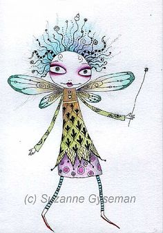 Faery Humour by Suzanne Gyseman | Diary of an Oneironaut