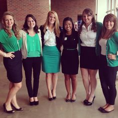 9956f47f86f Perfect look for business casual chapter! Sorority Please