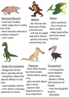 Tag urself im thylacine and montauk monster Mythological Creatures, Mythical Creatures, Alien Aesthetic, Myths & Monsters, Mothman, Urban Legends, Creature Design, Character Design, Monsters