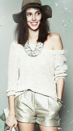 sparkley shorts?  Yes, please.  (via free people)