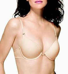 Wacoal Custom Contours Push-up Bra #65842 (38b) Nude