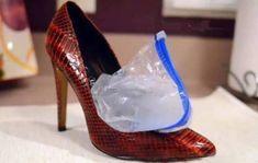 16 trików związanych z obuwiem, dzięki którym buty staną się wygodniejsze, a stopy więcej nie ucierpią - Genialne Brokat, Tips Belleza, Pumps, Heels, Good Advice, Good To Know, Diy And Crafts, Life Hacks, Christian Louboutin