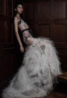 王薇薇的婚紗、新娘禮服