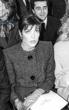 Dior fashion show, November 29, 1985 in Paris