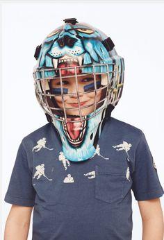 Stone Island Junior for fall 2014 Italian boyswear style with a hockey theme