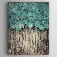 Handgemalte AbstraktTraditionell Ein Panel Leinwand Hang-Ölgemälde For Haus Dekoration 2016 - €69.67