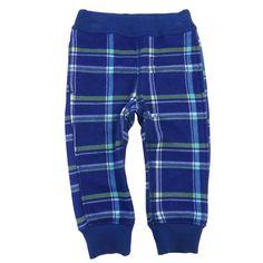 Raised Fabric Knit Pants w/Rib