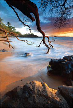 Sunset at Makena, #Maui #Hawaii