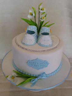 A cake for my little son's walking feet :-)