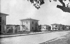 Şişli - Büyükdere caddesi arasındaki ilk binalar. Arkada kalan kısımlar ise dutluklar.(Şimdilerde Astoria Alışveriş merkezinin bulunduğu böl...