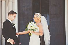 Wedding Flowers by Found & Flora // Photos by Ever Lovely Photography