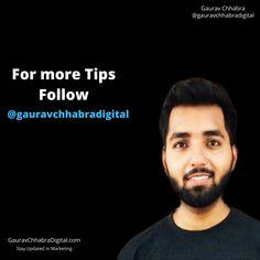 Gaurav Chhabra Digital Instagram Digital Image, Marketing, Tips, Instagram, Counseling