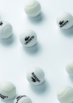 From the #Lacoste archives , #tennis balls for this season #FrenchOpen http://www.centroreservas.com/