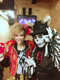 D13 (Domme) Leetspeak monsters Visual Kei, Monsters, Halloween Face Makeup, Rock, Fashion, Moda, Fashion Styles, Skirt, Locks