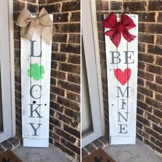 Reversible Sign Welcome Sign Valentine S Day By Ebabcreations Ebab