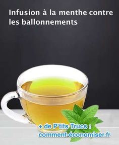 L'Infusion La Plus Efficace Contre les Ballonnements.