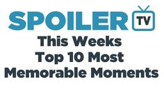 """This Week's Top 10 Most Memorable Moments - Scene 6, Scandal, around 1'57"""": """"you didn't save me! I'm on my own!"""""""