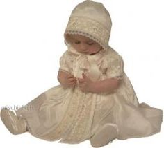 BS2633 Trinity Little Darlings Christening Romper Dress Set 3-24