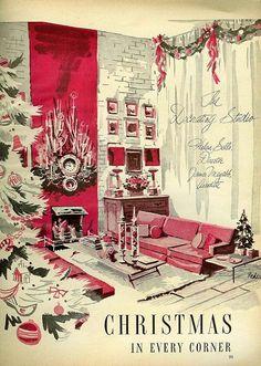 xmashop:  Christmas in every corner by sugarpie honeybunch on Flickr.