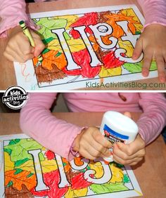 4 fun fall coloring pages to color during quiet time!