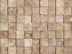 Indoor teak 3D Wall Cladding JUNGLE by Wonderwall Studios