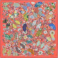 18f6434b21f9 La Maison des Carrés Hermès   Fleurs et Papillons de Tissus by matilda