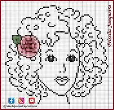 Loom Patterns, Beading Patterns, Cross Stitch Patterns, Crochet Patterns, Filet Crochet Charts, C2c Crochet, Donia, Cross Stitch Flowers, Loom Beading
