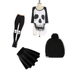 A fashion look from November 2014 featuring Boohoo leggings and Neff hats. Browse and shop related looks.